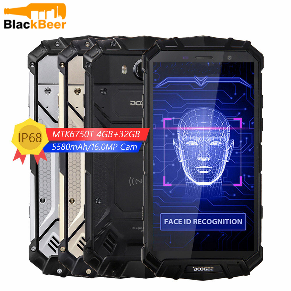 DOOGEE S60 Lite 5,2 Zoll Smartphone IP68 Wasserdicht Quad Core 4GB 32GB Android 8.1 Handy LTE Rugged Tough Mobile telefon NFC image