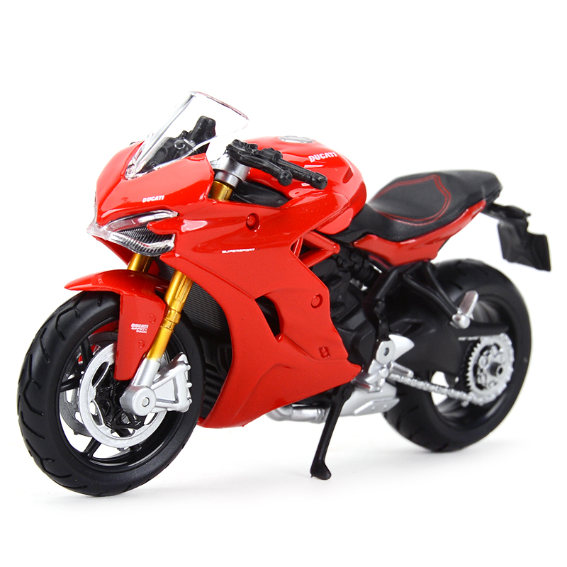 Maisto 1:18 Ducati Diavel Carbon 1199Panigale 1098S 748 848 Hypermotard Monster Supersport S Diecast Alloy Motorcycle Model Toy