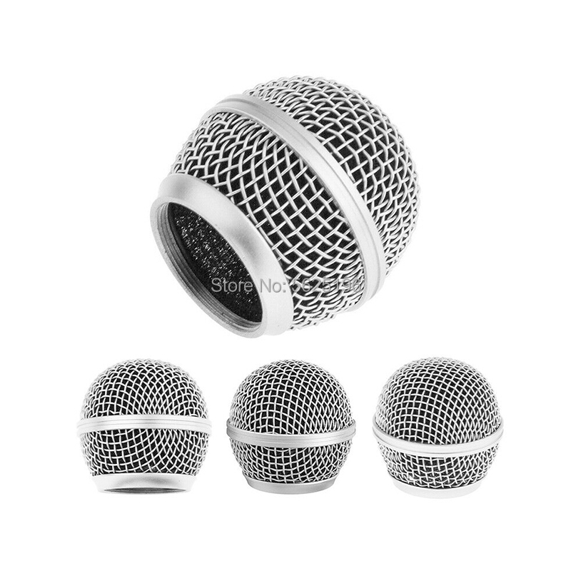 Best Price Professional Weave Wire Mesh For Microphone Mic SM58 Head Grills Metal Head Cover