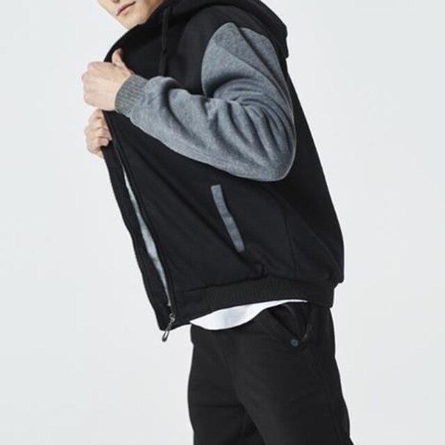 2021 Newset Men Coat Jacket Outwear Winter Slim Hoodie Warm Hooded Tracksuits Stylish Fashion Design Bursting Drop Ship 5XL 5