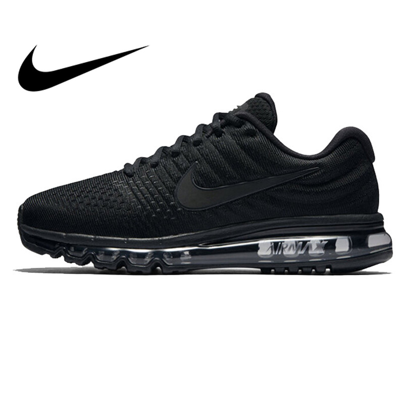 Original Authentic NIKE AIR MAX 2017 Mens Running Shoes Sport Outdoor Mesh Breathable Sneakers Athletic Designer Footwear 849559 image