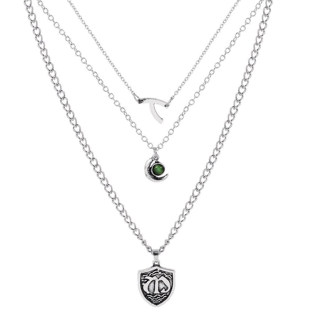 Женское Ожерелье с кулоном Hope Mikaelson, ожерелье с кулоном в виде костяного тростника, ювелирное изделие для косплея, цепочка для ключицы