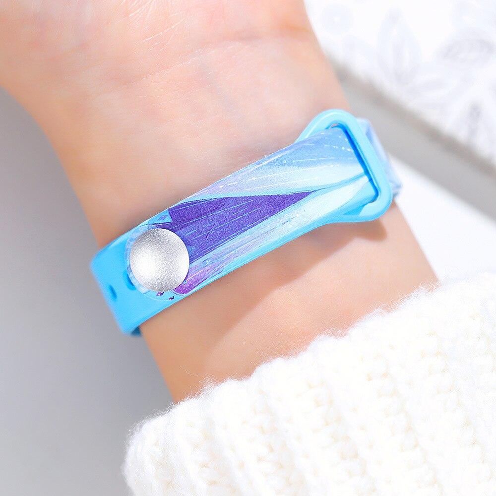 Дисней Микки часы месть альянс дети% 27 часы Лед Снег магия мультфильм студент сенсорный экран браслет