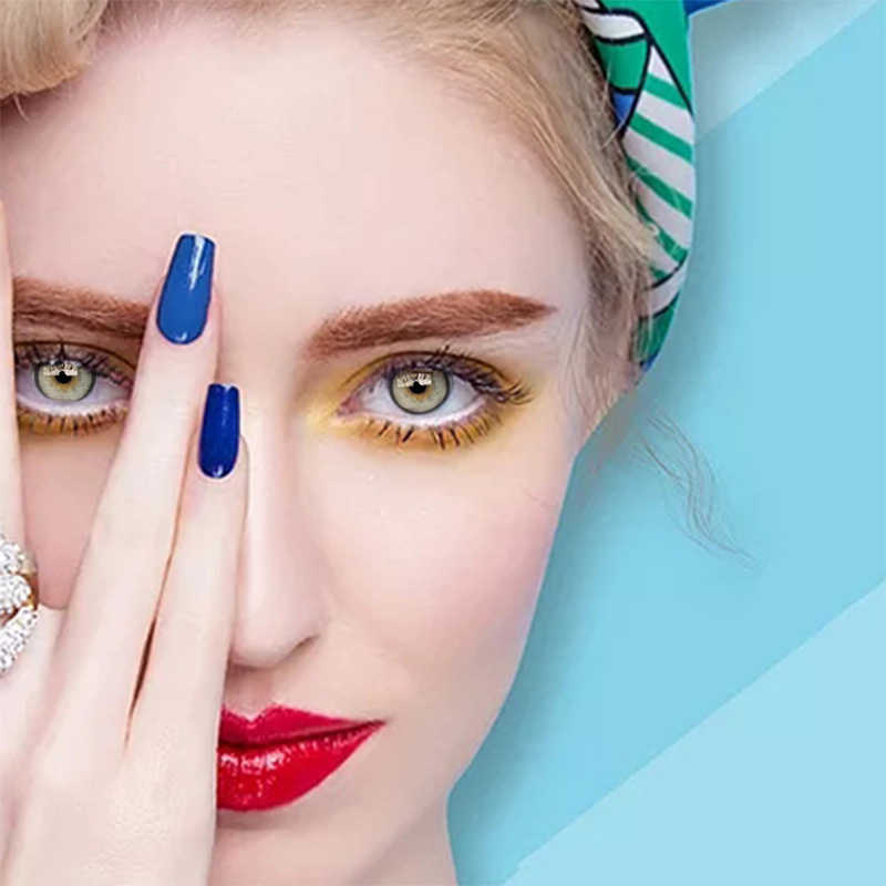 2 sztuk/para kolorowe serie kolorowe soczewki kontaktowe do oczu kolorowe kolorowe soczewki kontaktowe szalone soczewki oczy Halloween soczewki kontaktowe