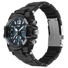 цена Electronic Watches Men Digital Shock Luxury Wristwatch Military Men Sport Brand LED Outdoor Waterproof Big Face Running Watch онлайн в 2017 году