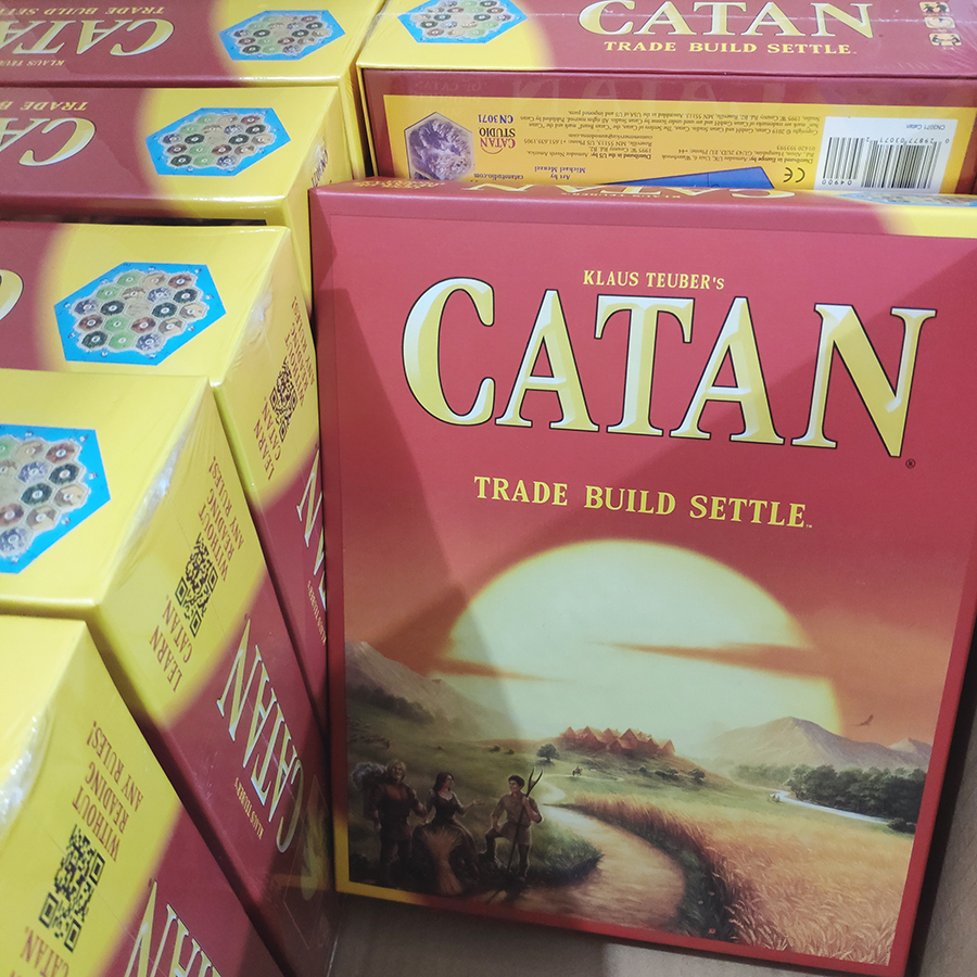 Settlers Of Catan Strategy Board Game 5th Edition And Extension 5-6 Player Board Game Party Trade Build Settle And Seafarers