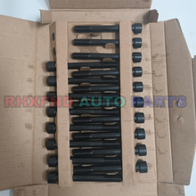 18pcs 4D56T 4D56 head bolts nuts for Hyundai H1 H100 Galloper Exceed for Mitsubishi Montero Pajero L300 Canter 2476cc 2.5TD