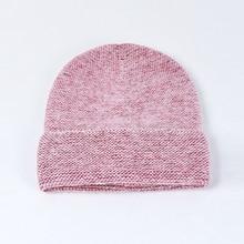 Winter Hat Women Beanie Angora Knit Brim Warm Cap Autumn Skiing Outdoor Accessory