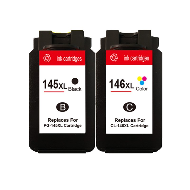 Ink Cartridges Cartridge For PG-145 XL PG-145XL PG 145  Pixma MG2410 MG2510 Inkjet Printer