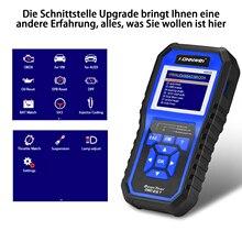 KONNWEI KW450 OBDII Scanner Code Reader Engine Fault Reader Erase/Reset Fault Codes Diagnostic Scanner for VW A udi Skoda