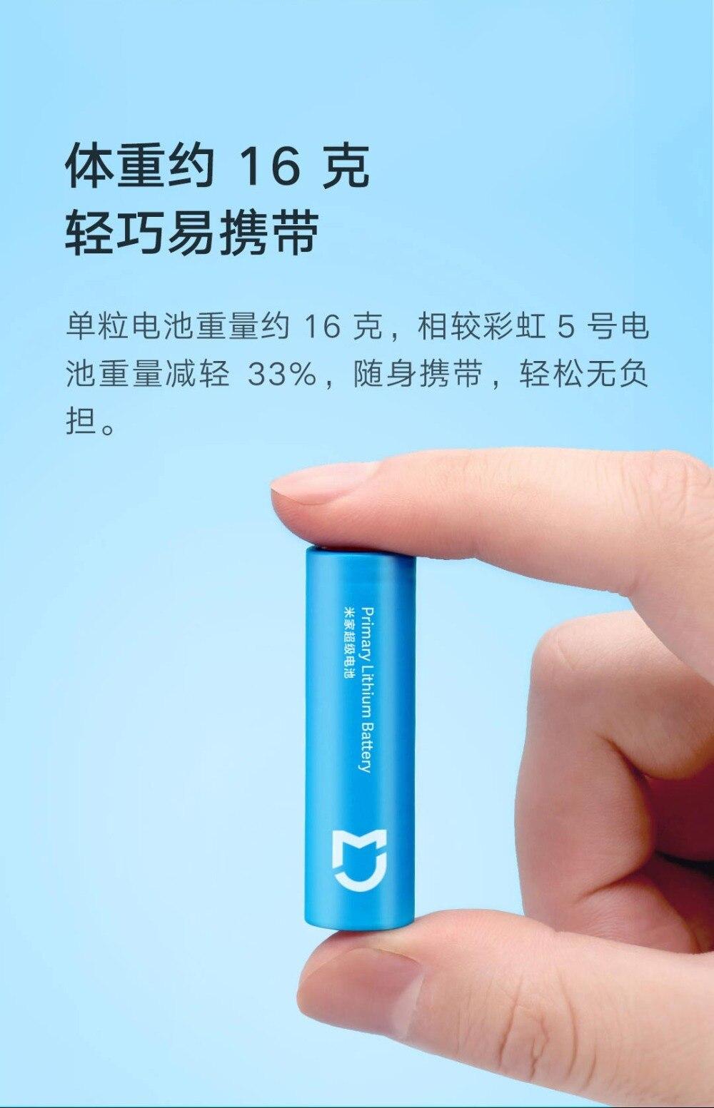 Ya puedes comprar por menos de 8€ las mejores pilas de Xiaomi