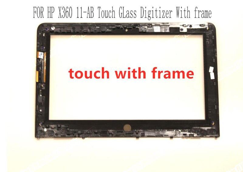 """Painel de Digitador para hp Ab009tu com Quadro Genuine Novidades """"touch Screen Substituição Córrego X360 11-ab Série 11-ab002tu Moldura 11.6"""