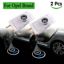 цена на For opel led Car Logo Projector light door lights Led Ghost Shadow welcome lamp courtesy Emblem lighting for Opel Insignia new