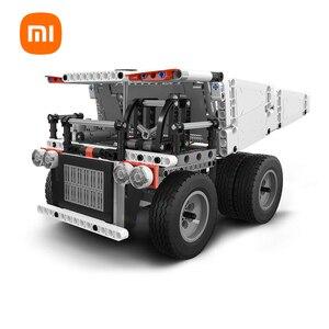 Image 1 - Original XiaoMi Mijia Mitu Mi Truck Builder Steering wheel control Bucket lifting system Rear wheel independent differential