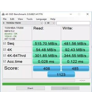 """Image 2 - TOSHIBA unidad de estado sólido para ordenador y portátil, dispositivo de almacenamiento de 240GB, OCZ TR200, 480GB, 64 capas, 3D, BiCS, FLASH, TLC, 2,5 """", SATA III, 960GB"""