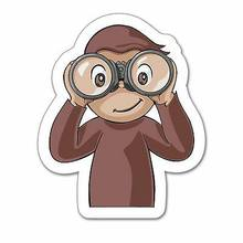 Curious George Binoculars Wall Graphic Decal Sticker 25