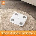Original Xiaomi Mi Körper Zusammensetzung Skala 2 Smart Fett Gewicht Gesundheit Skala BT BMI Skala Digitale Skala Mi Fit APP analyse