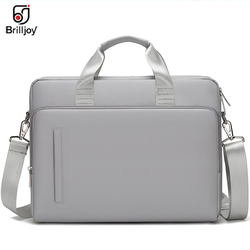 Brilljoy Luxury Briefcase Brand Laptop Bag 15.6 Inch Of Women 14 14.6 15 15.6 Shoulder Portable Messenger Men Notebook Bag New