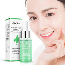 EFERO Groene Thee Essentiële Serum Gezichtsverzorging Huid Acne Treatment Comedondrukker Anti Litteken Vlekken Hydraterende Essentiële Essentie