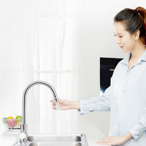 Image 4 - Youpin Diiib מטבח מגופים Aerator מים מפזר Bubbler אבץ סגסוגת מים חיסכון מסנן ראש זרבובית ברז מחבר כפול מצב