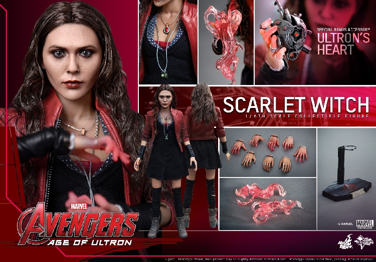 Avengers: Age of Ultron 1/6 Scale Scarlet Witch 1,0 12 Коллекционная фигурка в наличии