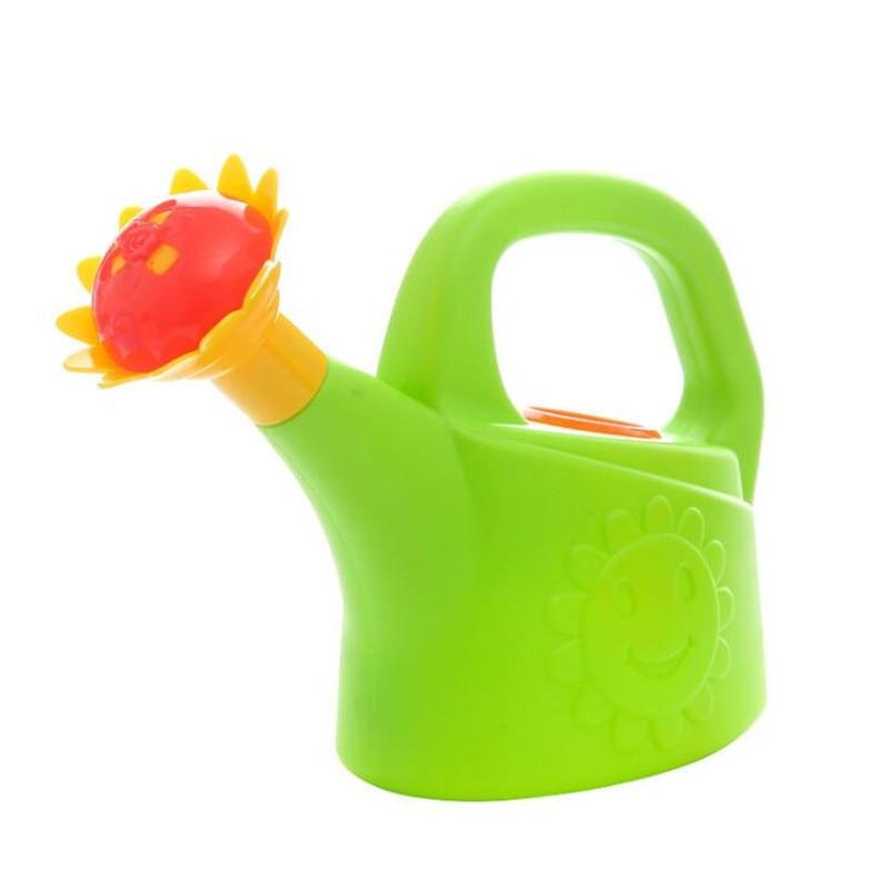 Home Sprinkler Spray Garden Plastic Beach Cute Cartoon Flowers Kids Watering Can Bottle Bath Toy Early Education Watering Toy 2