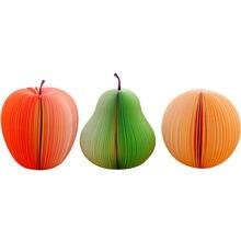 Новинка забавный блокнот для записей креативный с фруктами яблока