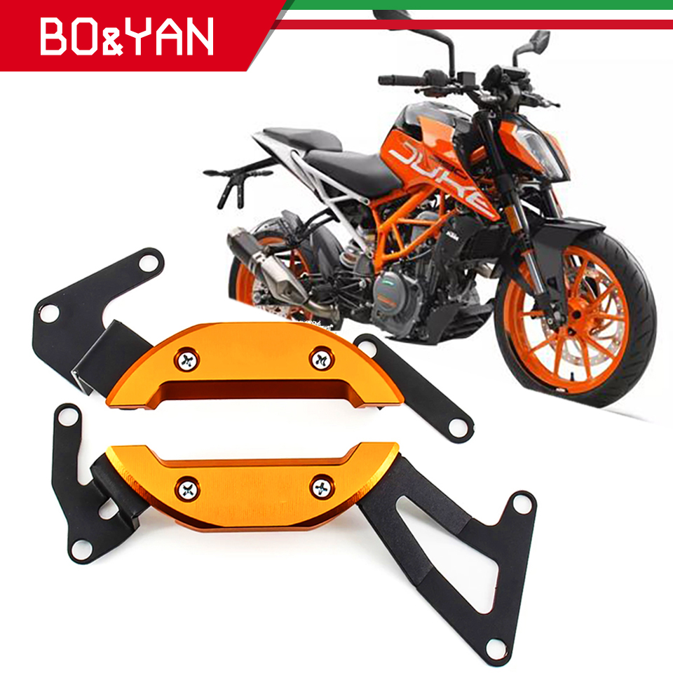 For KTM DUKE 390 250 Duke RC390 RC250 2017 2018 2019 Motorcycle Engine Guard Case Slider Cover Protector Kit