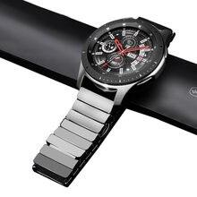 Ремешок керамический для samsung galaxy watch 3 active 2 gear
