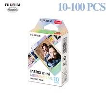 Fujifilm 10 100 장 Instax 스퀘어 필름 인화지 인어 꼬리 호환 Fujifilm Instax Mini 7/8/9/25/50/70/90