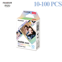 Fujifilm 10 100 Sheets Instax Square Film Photo Paper Mermaid Tail Compatible with Fujifilm Instax Mini 7/8/9/25/50/70/90