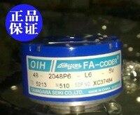 送料無料エンコーダ OIH48-2048P6-L6-5V TS5213N510 センサー