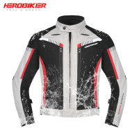 HEROBIKER New Autumn Winter Motorcycle Jacket Waterproof Windproof Moto Jacket Riding Racing Motorbike Clothing Protective Gear