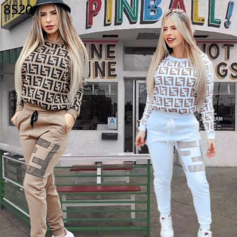 Printed 2 Piece Set Women Tracksuit Pullover Sweatshirt Trousers Jogger Set Casual Women Two Piece Outfits O-Neck Tops Pants Set