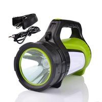 Waterproof 180° Beam Angle Portable Spotlight 1000 lumens 500m Beam Distance USB Rechargeable Multi purpose Work LED Lamp light