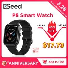ESEED P8 Smart Watch Men Women Wristband Sport Clock IP67 He