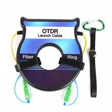 LC SC OTDR éliminateur de Zone morte, bobine de Fiber optique 500M OTDR boîte de câble de lancement 1310nm 1550nm monomode