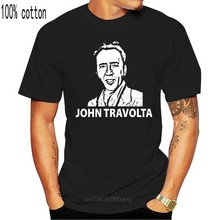 Camiseta masculina do filme do ator de hollywood nicolas cage