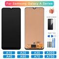 ЖК-дисплей Incell для Samsung Galaxy A10 A20 A30 A70 A40 A90 A30s A750, дисплей с сенсорным экраном и рамкой, дигитайзер в сборе, AAA +++