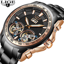 LIGE 2020 Sport Clock Fashion Mens Watches Top Brand Luxury Automatic