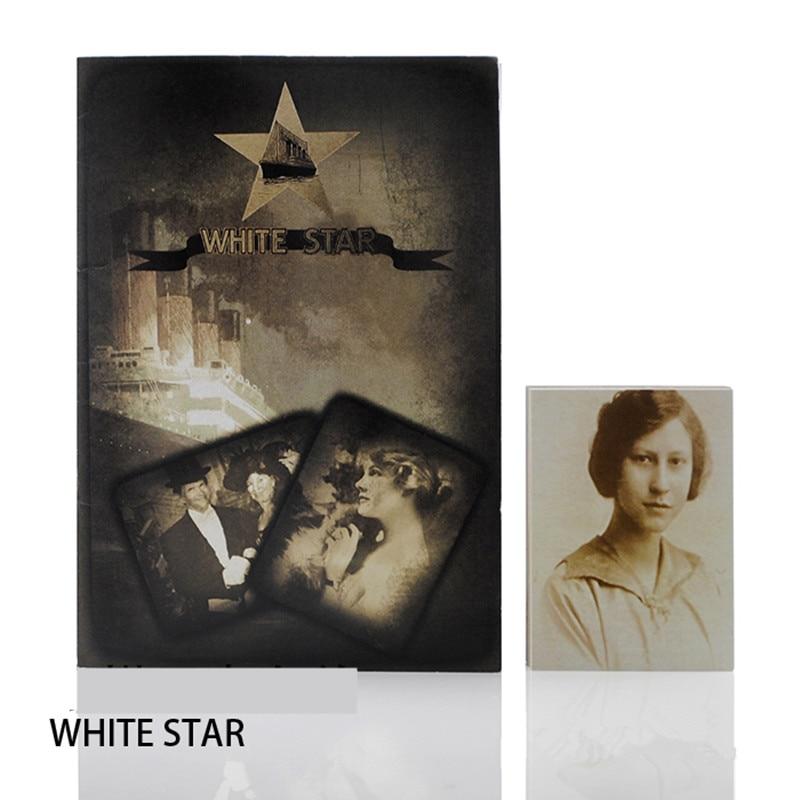Titanic List Whitestar - Magic Tricks,White Star,Gimmick,Prediction Named Card,Magic Props,Close Up Magic,Stage,Mentalism