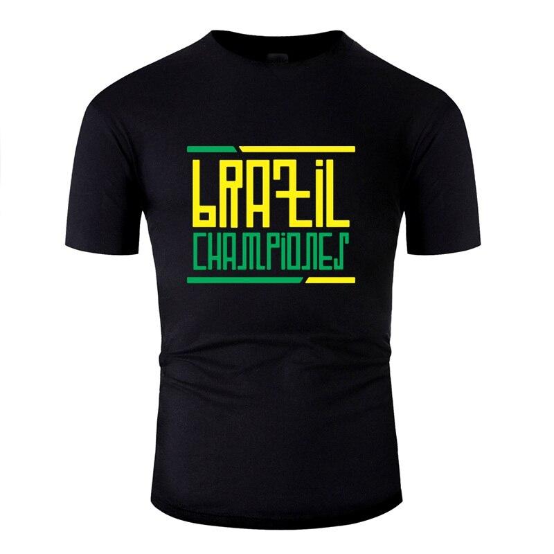 >Designing <font><b>Outfit</b></font> Brazil <font><b>Championes</b></font> Mens T Shirt Girl Boys Classic Mens T-Shirt Streetwear Short Sleeve Hiphop Top