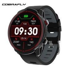 Cobrafly T30 Sport Smart Uhr Männer Fitness Tracker Heart Rate Monitor 1,3 Zoll Volle Runde Bildschirm Ip68 Wasserdicht Smartwatches