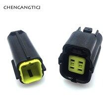 цена на 2 sets pcs 4 Pin way Female Male Auto Electrical Plug Waterproof Denso Connector 174259-2 For MAZDA 626 98-00 Oxygen Sensor