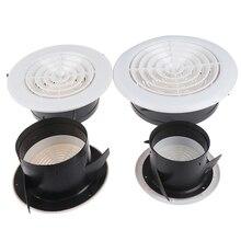 75 мм 100 мм 3~ 8 ''Регулируемая вентиляционная решетка сетка вентиляционное отверстие круглая вентиляционная решетка крышка