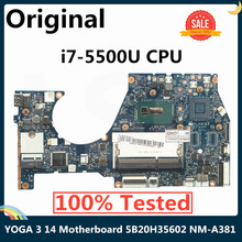 CPU Laptop Motherboard NM-A381 Lenovo YOGA for Yoga3-14/Yoga/3/14 5b20h35602/5b20h35614/Nm-a381