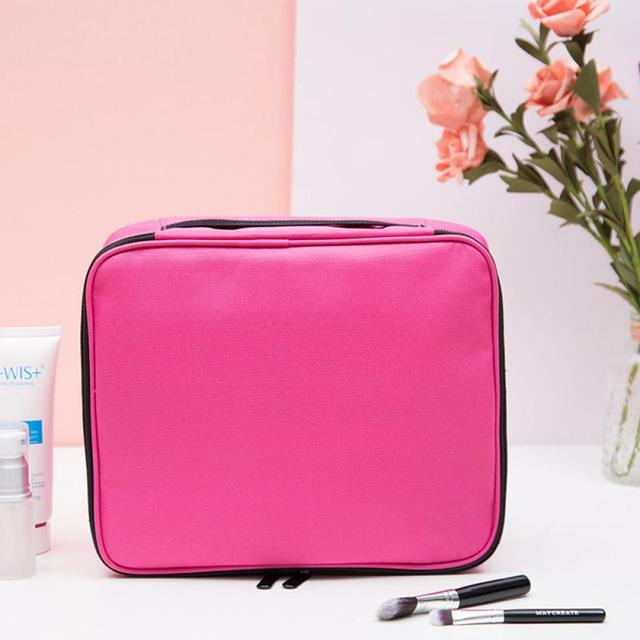 Pattern Striped Letter Octagonal Cosmetic Bag  Organizer Waterproof Female Storage Make up Cases Toothbrush Pouch Organizer Bag