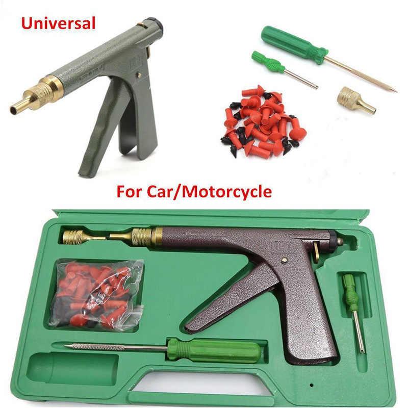 Perbaikan Ban Kit Gun Sepeda Motor Kendaraan Listrik Cepat Alat Perbaikan Ban