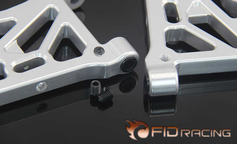 FIDRACING 0 virtuale posizione anteriore e posteriore ammortizzatore Un braccia per LOSI DBXL