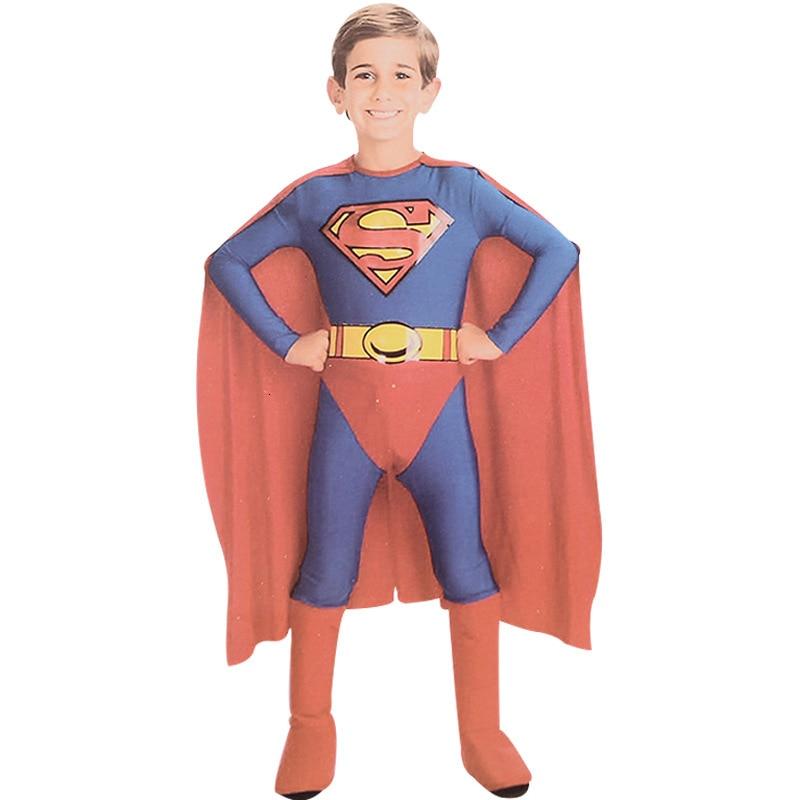 Halloween Baby Clothing Sets Boys Spiderman/Batman/Superman/Zorro Costumes Children Kids Cosplay Gift